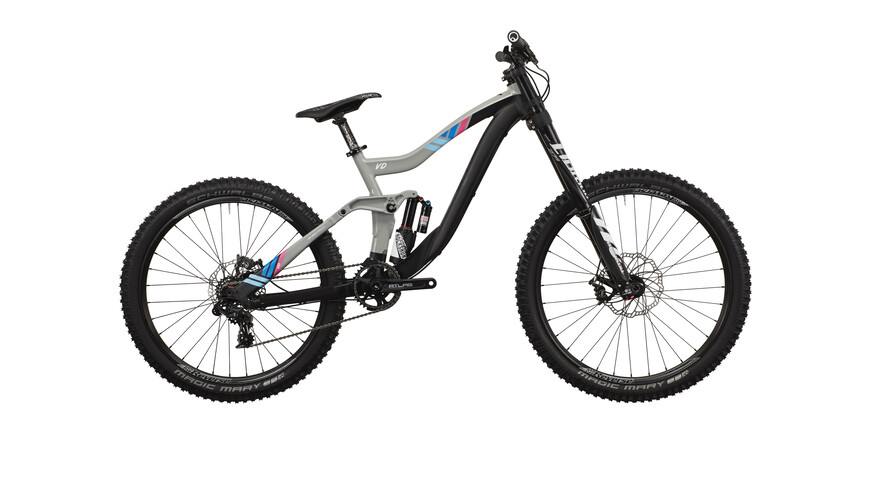 "VOTEC VD Elite - Gravity Fully 27.5""/26"" - storm grey/blue/pink"